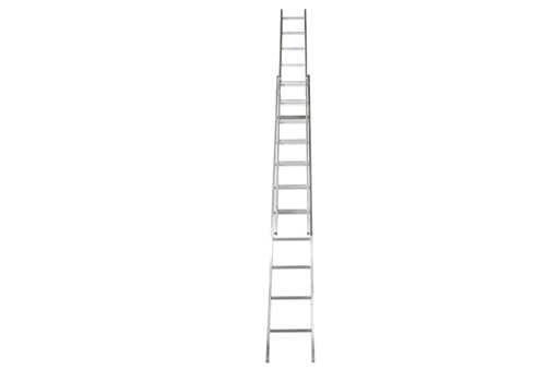 Global Ladders - Aluminium Single Wall Support Extension Ladder